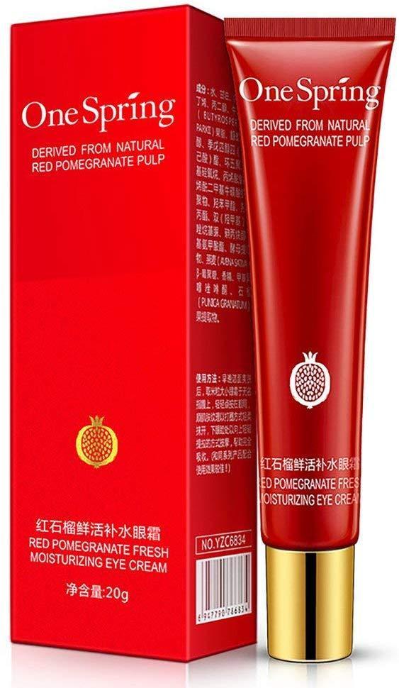 Увлажняющий крем для кожи вокруг глаз с экстрактом граната One Spring Red Pomegranate Eye Cream