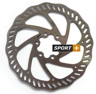 Ротор для дисковых тормозов Tektro Волнистый 160мм под болты,+ 6 болтов
