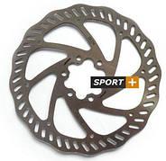 Ротор тормозной диск Tektro Волнистый 160мм под болты,+ 6 болтов