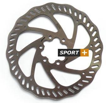 Ротор тормозной диск Tektro Волнистый 160мм под болты,+ 6 болтов, фото 2