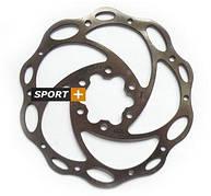 Ротор для дисковых тормозов Tektro Волнистый 140мм под болты,+ 6 болтов