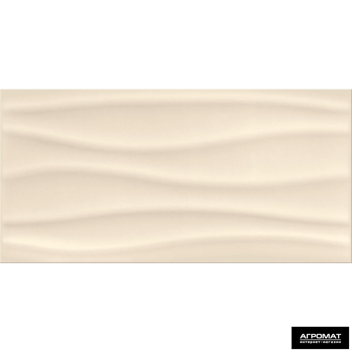 Плитка облицовочная Opoczno Basic Palette BEIGE WAVE глянец