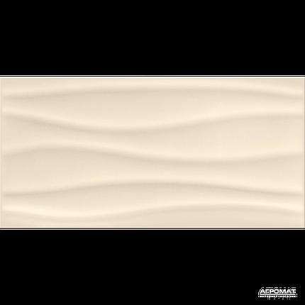 Плитка облицовочная Opoczno Basic Palette BEIGE WAVE глянец, фото 2