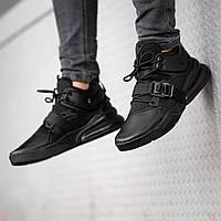 Кроссовки мужские в стиле Nike Air Force 270 black (Реплика ААА+)