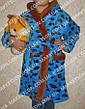 Халат махровий дитячий м'який з капюшоном на 1-7років, фото 5