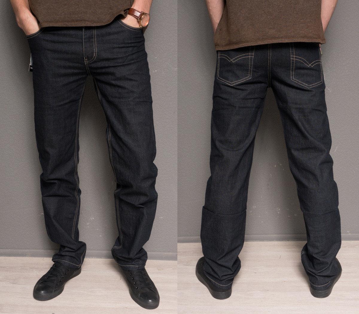 Мужские джинсы VietKenzo Черные р. 33,34