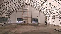 Ангар каркасный быстровозводимый для склада, ангары тентовые для сельхоз предприятий, павильоны для производст