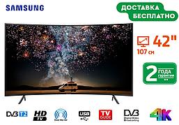 Телевизор Изогнутый Samsung Smart TV + T2, 42 MD42DU1100 Самсунг