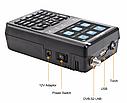 Satlink SP-2100 HD DVB-S/S2 и MPEG-2/4  прибор для настройки спутниковых антенн, фото 5