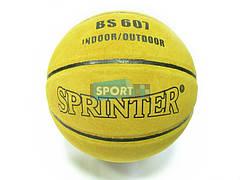 Мяч баскетбольный SPRINTER Кожанный