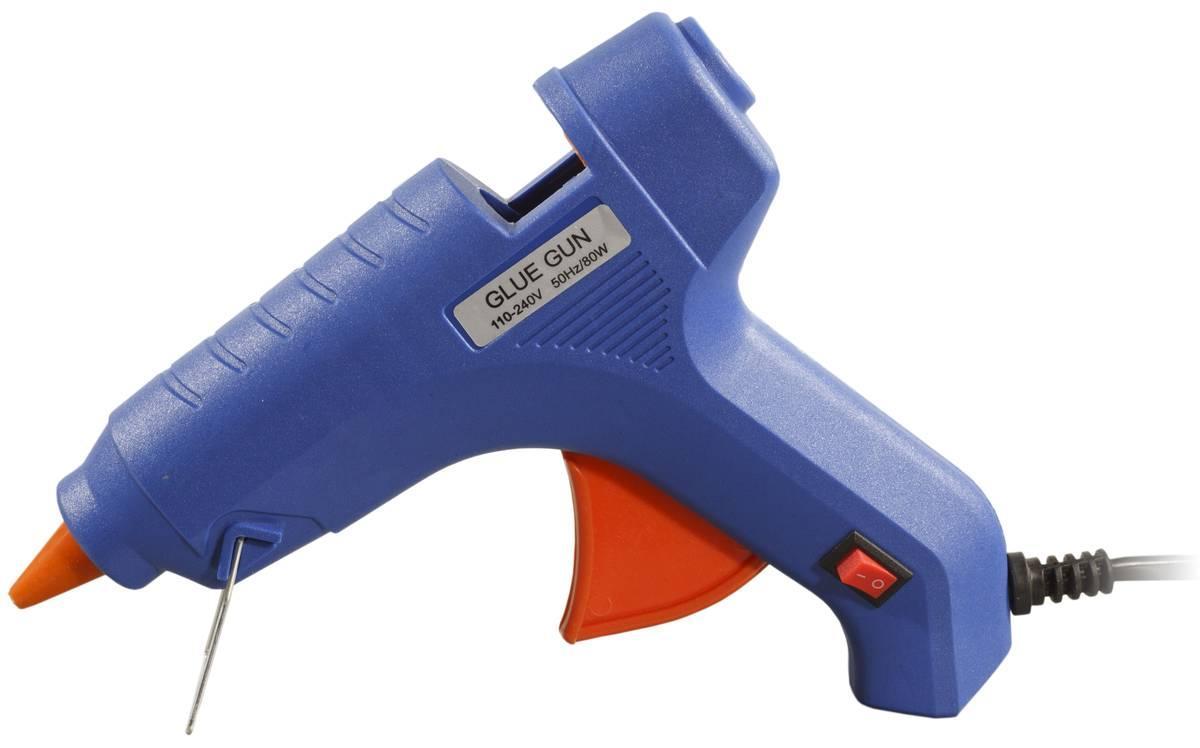 Пистолет для термо клея 1.1 см 80W с кнопкой, c поставкой G-250