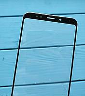 Стекло дисплея для Xiaomi Redmi 5 Plus черное (для переклейки)