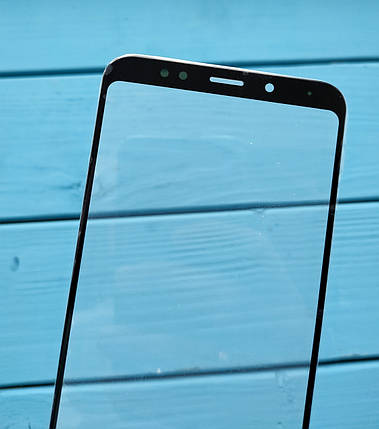 Стекло дисплея для Xiaomi Redmi 5 Plus черное (для переклейки), фото 2