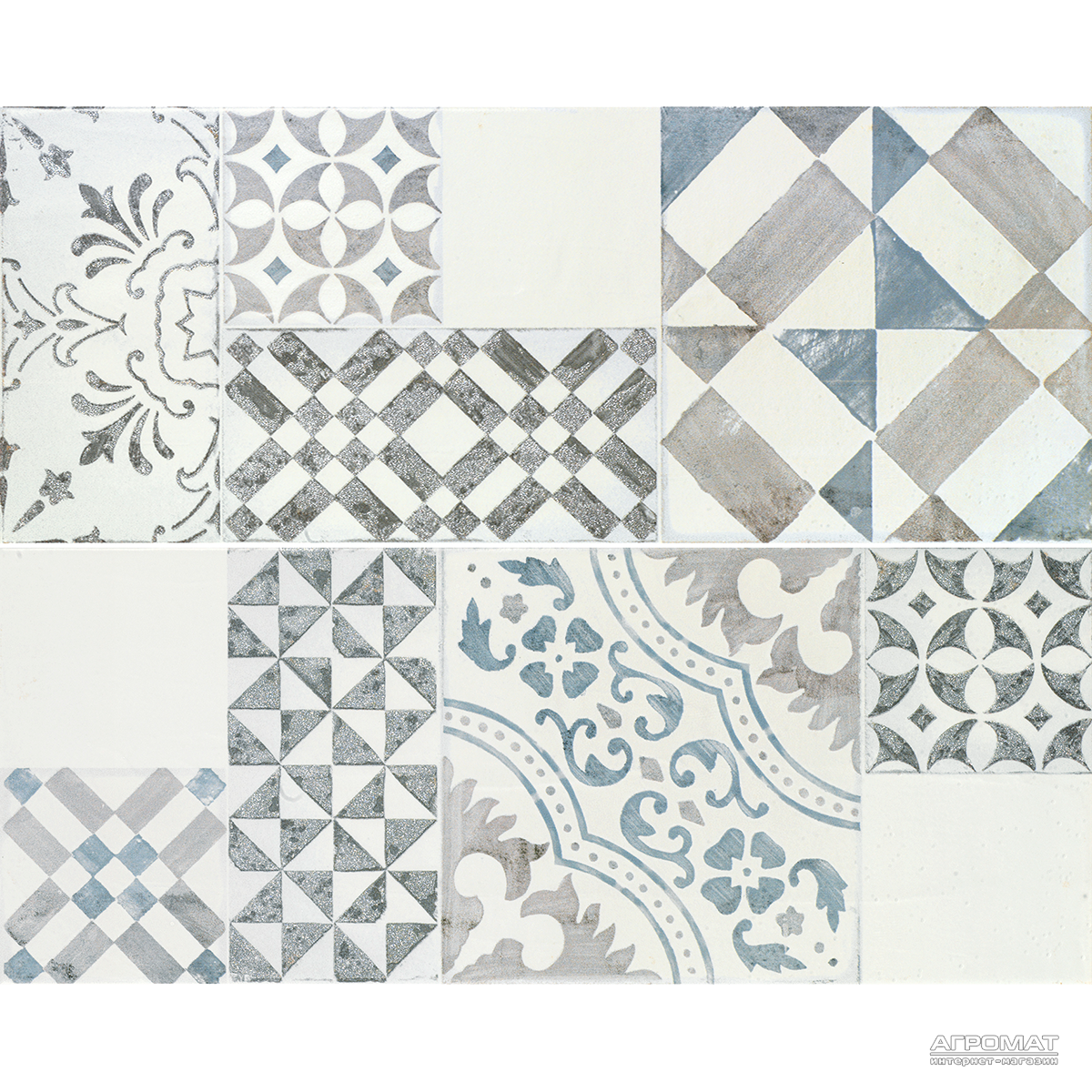 Плитка облицовочная APE Ceramica This Is ANIKO WHITE MIX