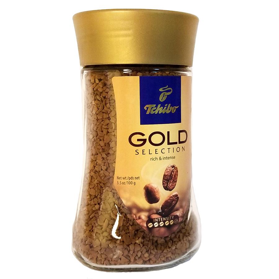 Чибо кофе растворимый Голд Селекшн 100 грамм в стеклянной банке