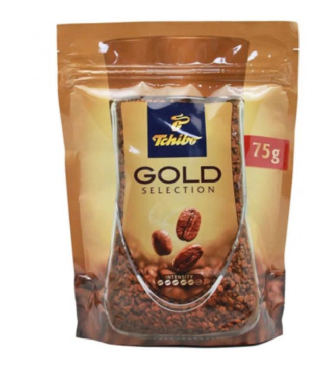 Чібо кава розчинна Голд Селекшн 75 грам в м'якій упаковці