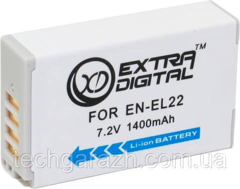 Аккумулятор Extradigital Nikon EN-EL22 (BDN2683)