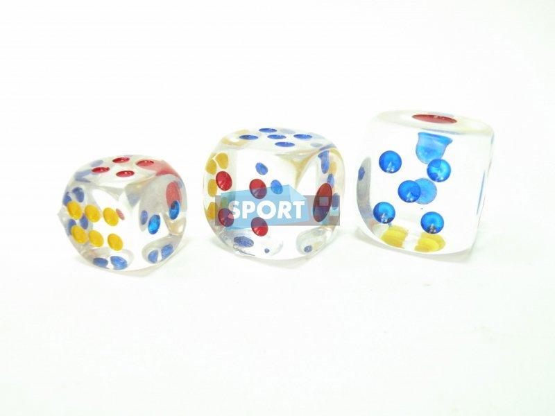 Прозрачный кубик (зарик) - 30 (цена за 1 шт.)