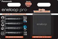 Аккумулятор Panasonic Eneloop Pro AA 2500мАч 4BP+Case (BK-3HCDEC4BE)