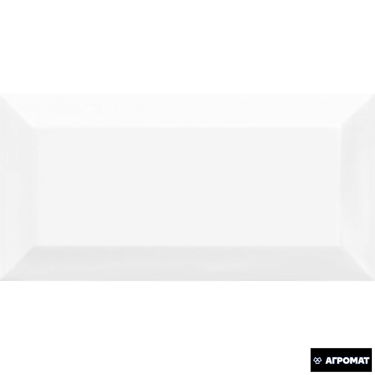 Плитка облицовочная Golden Tile Metrotiles белый 460051