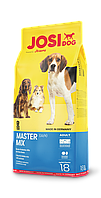 Josera JosiDog Master Mix 18 кг- микс разноцветных крокет для собак