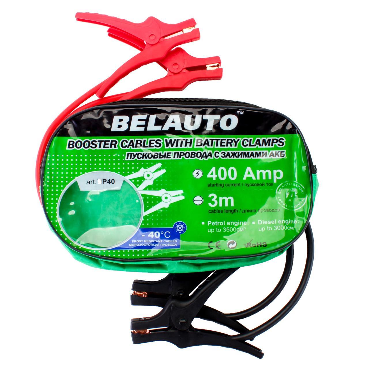 Провода внешнего пуска Belavto 3м (400А)