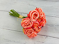 """Букет """"Розочек"""" розовых на 12 веток (12шт)"""
