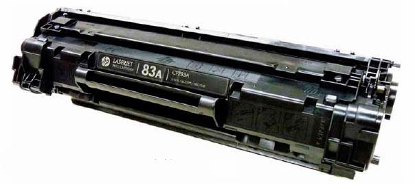 Заправка картриджа CF283A