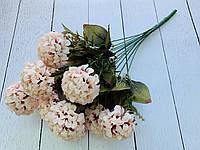 """Букет """"Хризантема"""" кремово-лиловая на 12 веток"""