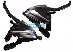Моноблоки Shimano ST-EF65 8х3ск. черн.