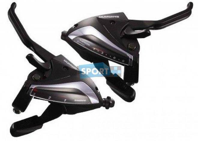 Моноблоки Shimano ST-EF65 8х3ск. черн., фото 2