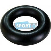 Эспандер кистевой Кольцо (1шт) UR FI-3793 (резина, d-3,5x8,5см, нагрузка 20кг, черный)