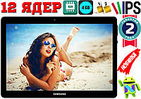 Планшет телефон Samsung Galaxy TAB4,GPS, 2Sim, 4GB RAM, 12 ядер, 3G, 32GB Корея