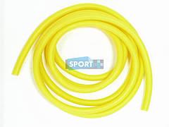 Эспандер - трубка для фитнеса из латекса, жёлтый. 0,25*0,6*1,1*300 см. G110-25