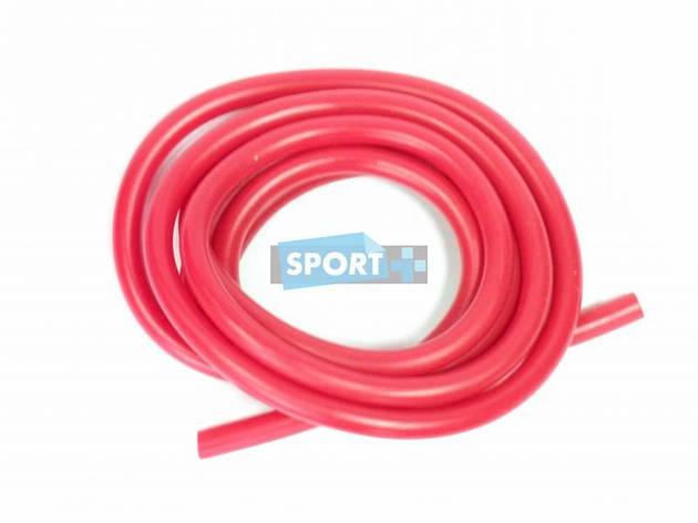 Эспандер - трубка для фитнеса из латекса,красный. 0,35*0,5*1,2*300 см. G120-35, фото 2