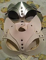 Портупея на лицо маска кошки, женская портупея маска кошка, качественные маски на лицо, маска кошки в цвете