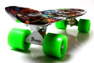 "Скейт ""Penny Board"" ""Graffiti"" Monsters, фото 3"