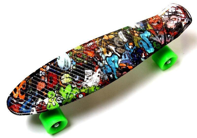 "Скейт ""Penny Board"" ""Graffiti"" Monsters"