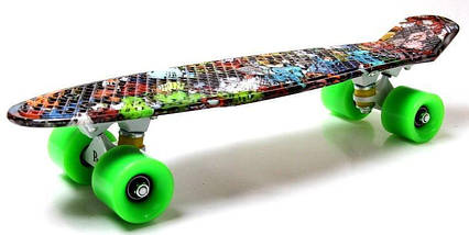 "Скейт ""Penny Board"" ""Graffiti"" Monsters, фото 2"