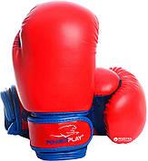 Перчатки боксерские Power Play красный 10oz