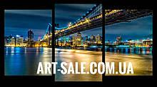 Модульна картина Міст Нью Йорк