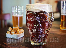 Бокал для пива Череп 900 мл