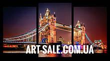 Модульна картина Нічний Лондон