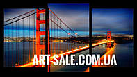 Модульная картина Сан Франциско