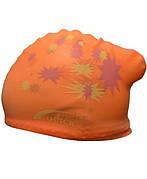 Шапочка для плавания для длинных волос - KW (Оранжевая)