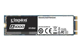 Накопитель SSD 960GB Kingston A1000 M.2 2280 PCIe 3.0 3D TLC (SA1000M8/960G)
