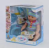 Лялька Бебі Борн Пупс Baby Born BL 033 B, фото 3