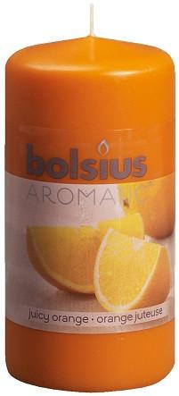 Свеча ароматическая апельсин Bolsius 12 см (60/120-63)