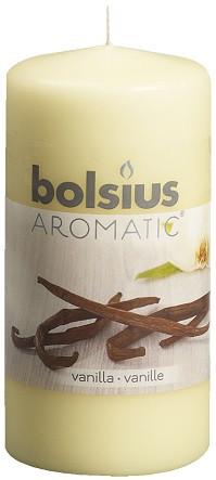 Свеча ароматическая ваниль Bolsius 12 см (60/120-67. 59468)