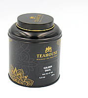 Чай черный Teahouse Золотая улитка 100 гр Ж/Б